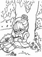 Coloring Reading Pages Tree Under Rainbow Brite Books Read Drawing Summer Printable Luna Popular Getdrawings Colors Coloringhome sketch template