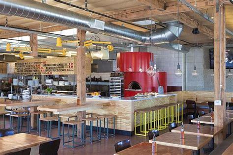 interior decoration of restaurant contemporary pitfire pizza interior restaurant by bestor architecture