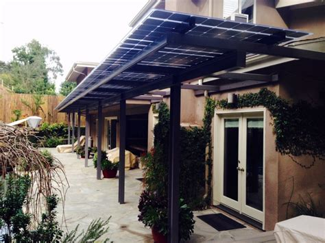 masterful upgrade of a backyard canopy with lsx lumos solar