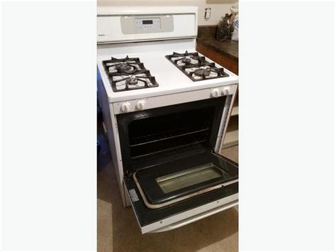 used gas range for kenmore gas range stove oven white used central 8769