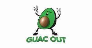 Pd Chart Guac Out Avocado Pun Guac Out T Shirt Teepublic