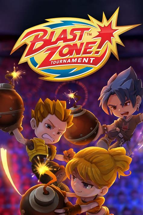 Blast Zone! Tournament for Xbox One (2019) - MobyGames