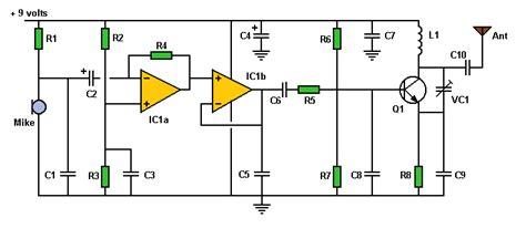 World Technical Transmitter Circuit
