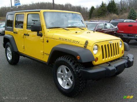jeep yellow 2008 detonator yellow jeep wrangler unlimited rubicon 4x4