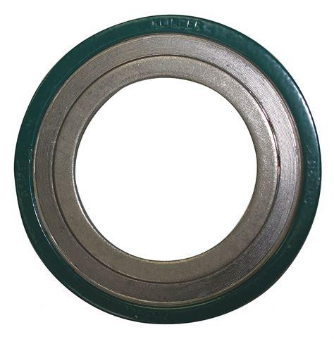 klinger spiral wound gasket type cr ss  flexible graphite spiral wound metal gasket