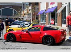 Red C6 Corvette Z06 BenLevycom