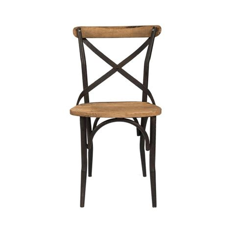 chaise bistrot metal cana chaise bistrot industrielle bois metal