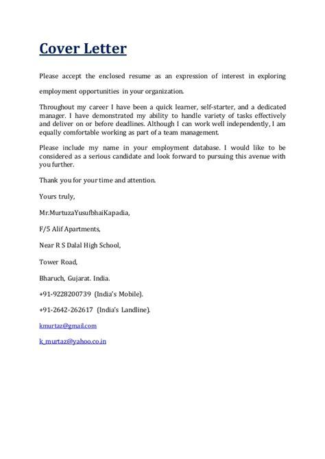 Enclosed Resume by Cv Of Murtuza 2016