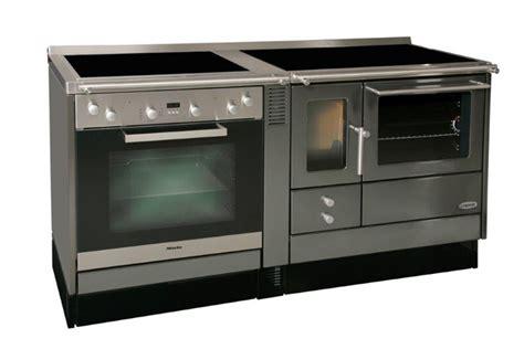 cuisine bois et inox cuisinières à bois et à granulés