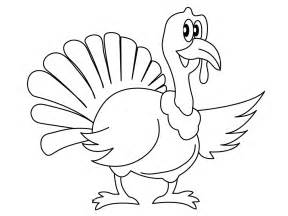 free printable turkey coloring pages for