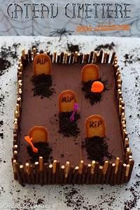 Gateau D Halloween : g teau cimeti re pour halloween amandine cooking ~ Melissatoandfro.com Idées de Décoration