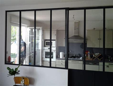 verriere interieure cuisine une verrière d 39 intérieure pour délimiter votre cuisine