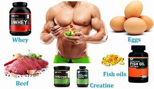 The 5 Most Important Muscle Building Foods And Supplements