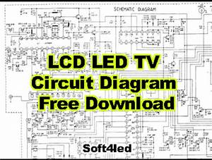 All Universal Lcd  Led Tv Circuit Diagram Free Download