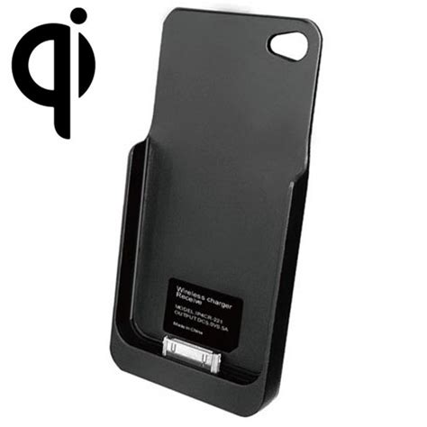 wireless for iphone qi wireless charging sleeve iphone 4 iphone 4s black