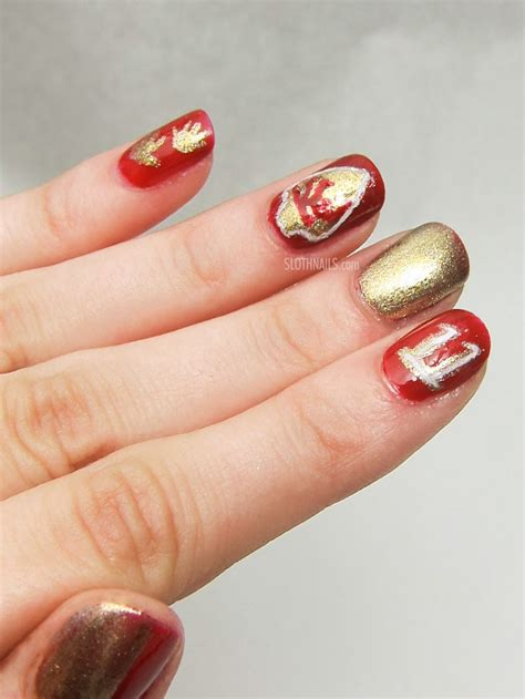 kansas city chiefs manicure joy studio design gallery