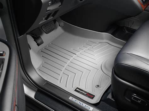 weathertech floor mats lexus rx330 weathertech 174 floor mats floorliner lexus rx 330 2004 2009 grey ebay