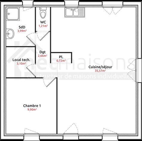 plan maison plain pied 2 chambres garage 201 l 233 gant plan de maison plain pied 2 chambres frais