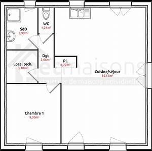 plan maison plain pied 3 chambres meilleur de plan de With plan de maison plain pied gratuit 3 chambres sans garage