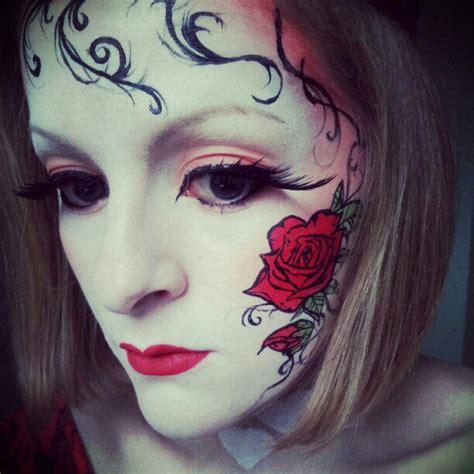 valentines rose makeup   allmadhera  deviantart