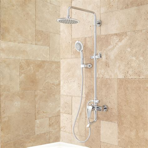 Bath Tub Set by Regan Exposed Pipe Tub And Shower Set With Shower