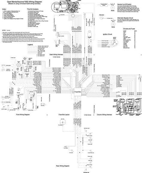 Opel Corsa Gsi Wiring Diagram by Wrg 7792 Wiring Diagram For Opel Kadett