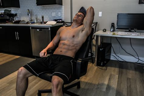 ultimate office chair ab workout no excuses