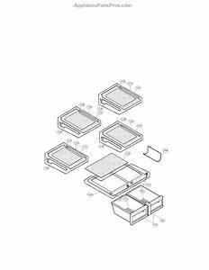 Parts For Lg Lmx25964st    00  Refrigerator Assembly Parts