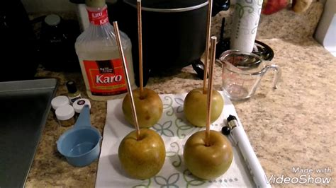 Golden/ platinum Candy apples - YouTube