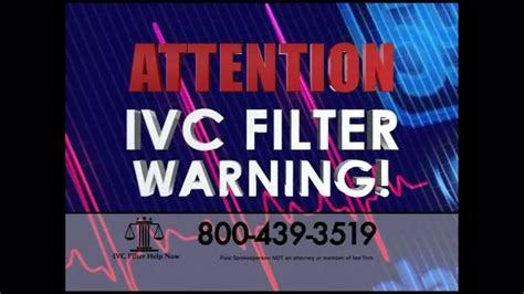 Ivc Filter Help Now Tv Commercial, 'ivc Moved'