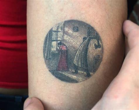 miniature tattoo scenes  eva krbdk scene