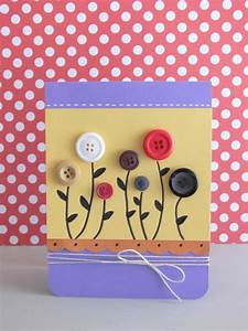 Geburtstagskarte Basteln Einfach : basteln mit kn pfen 26 super kreative ideen ~ Orissabook.com Haus und Dekorationen
