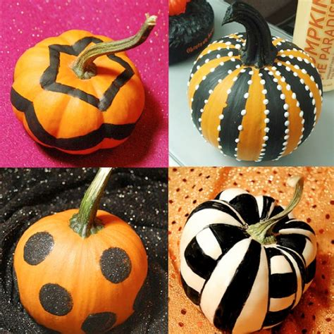 8 Easy Pumpkin Ideas Without Carving