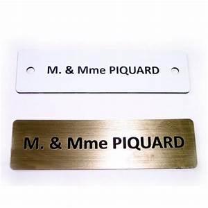 plaque de porte gravee plaque de maison plaque de boite With plaque de porte d entrée