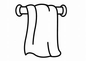 Dibujo de toalla para colorear Imagui