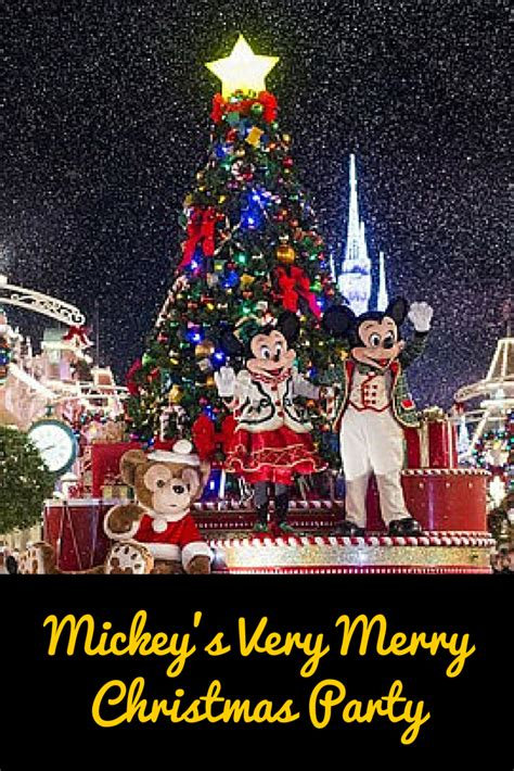 mickey s very merry christmas party 2016 dates announced