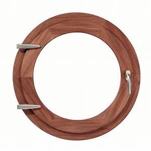 Oeil De Boeuf Bois : oeil de boeuf bois ouvrant ovale 90 x 60 cm ~ Nature-et-papiers.com Idées de Décoration