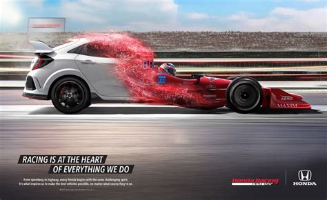 honda launches  race inspired ad campaign autoguide