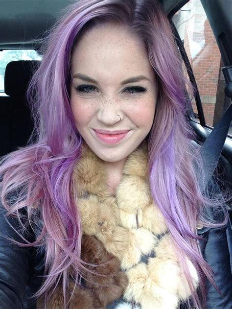 Pastel Purple Hair Dye Manic Panic My First Time Going