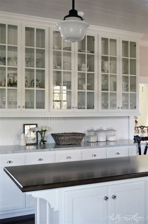 white glass front kitchen cabinets best glass front cabinets ideas on inside 1768