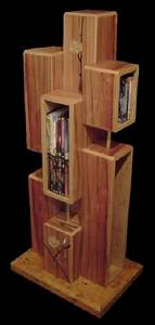 Dvd Regal Holz : bild holz kunsthandwerk regal von ambos bei kunstnet ~ Bigdaddyawards.com Haus und Dekorationen