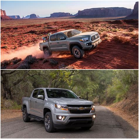 Towing Midsize Truck by Ask Tfl Chevy Colorado Or Toyota Tacoma Which Midsize