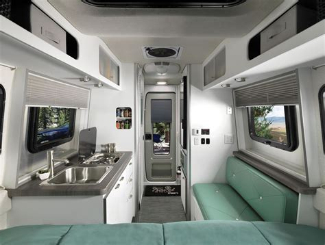Airstream's New Trailer, Nest, Offers Compact Luxury For