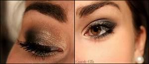Maquillage Soirée Yeux Marrons : maquillage yeux marrons discret ~ Melissatoandfro.com Idées de Décoration