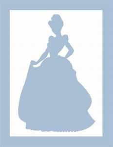 Disney Princess Silhouette Cinderella Printable | www ...