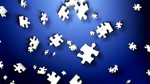 Floating Jigsaw Puzzle Pieces - Free Motion Background ...