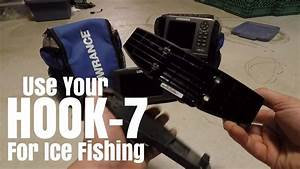 How To Fit Lowrance Hook 7 Into Ppp18 Ice Fishing Kit