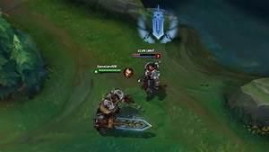 LOL PBE 8/8/2015: Steel Legion Garen Villain Indicator ...