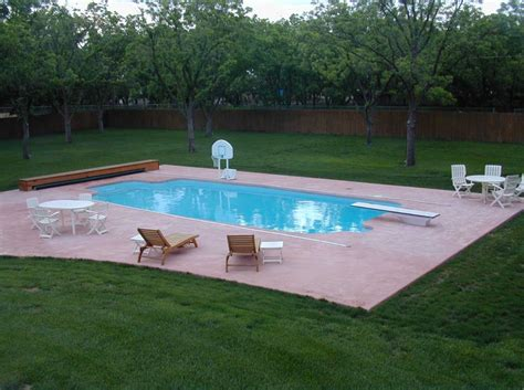 Small Fiberglass Swimming Pools Design Ideas
