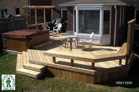 Deck Bench Design by Spa Diy Deck Plans